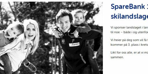 image: Sparebank 1 glemte å fjerne Johaug-bilde fra sponsorsidene