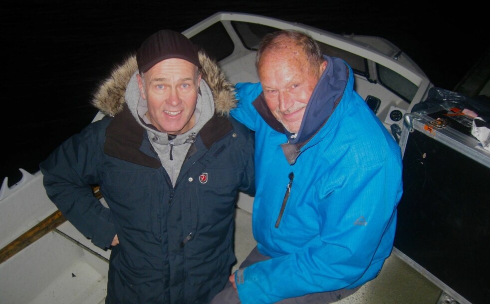 JOBBET TETT: Regissør Erik Poppe og Per Fugelli jobbet tett i 1,5 år om filmen om sistnevnte. Foto:Charlotte Fugelli