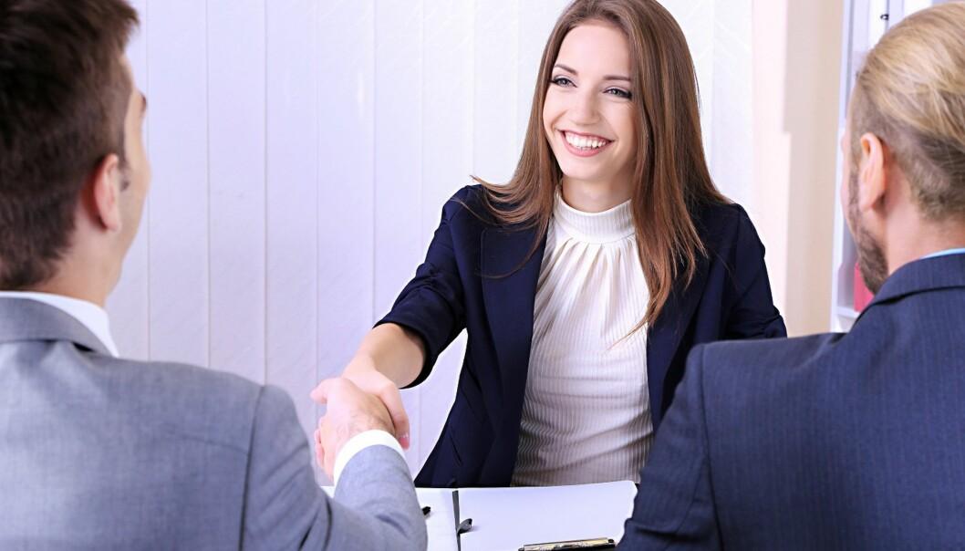 VÆR FREMPÅ: Skal du komme deg inn på arbeidsmarkedet må du være aktiv, oppsøkende og på tilbudssiden. Foto: Scanpix.