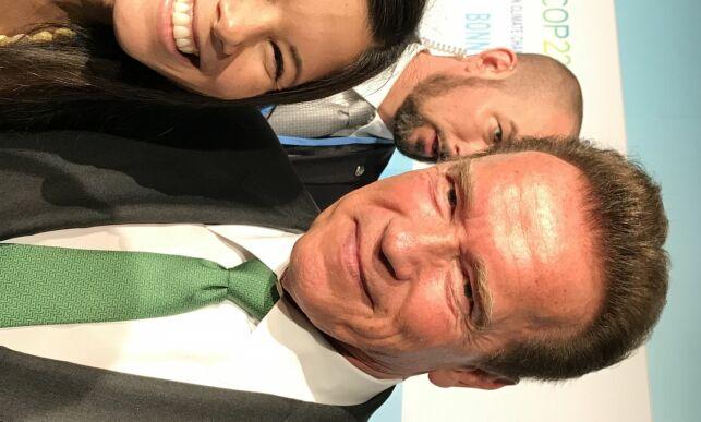 image: Fikk skryt av Schwarzenegger: - Dette er heltene i vår grønne revolusjon