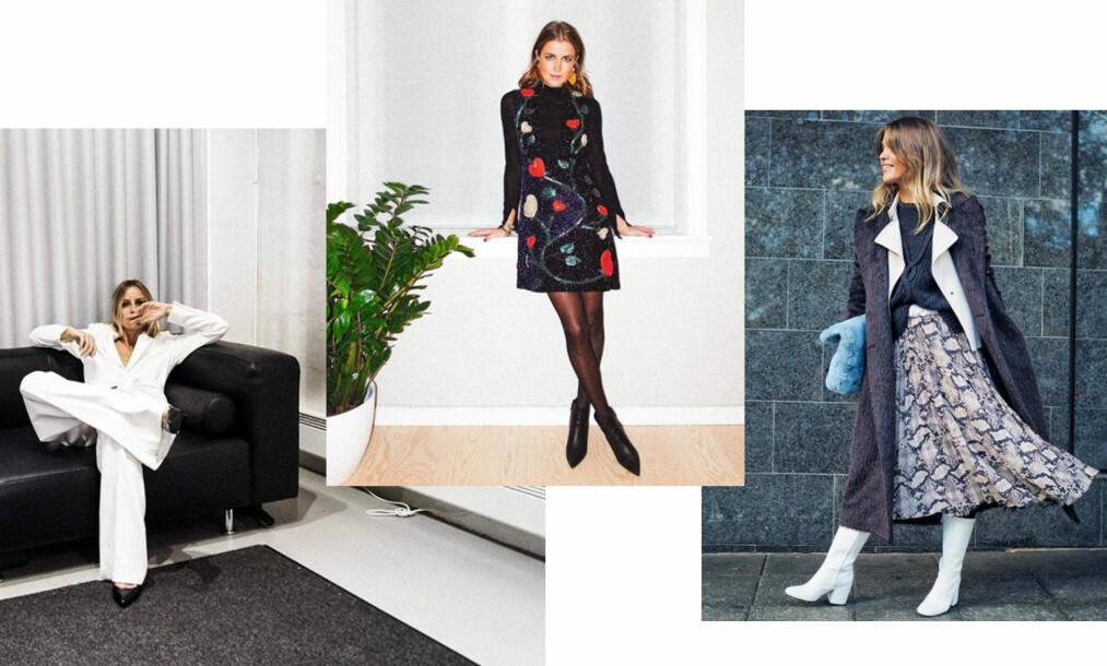 <strong>FESTMOTE:</strong> Celine Aagaard, Nina Sandbech og Gine Margrethe Larsen deler hva de kommer til å gå for i år. Foto: Skjermdump fra Instagram @celineaagaard_ @ninasandbech @ginemargrethe