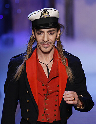 <strong>SPARKET:</strong> John Galliano mistet toppjobben hos Dior i 2011, etter å ha kommet med hets mot jøder i Paris. Foto: NTB scanpix