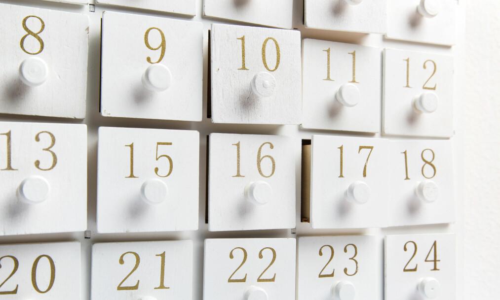 JULEKALENDER: Disse 16 kalenderne fra noen av de største skjønnhetsmerkene gir den perfekte starten på julen! Foto: Scanpix