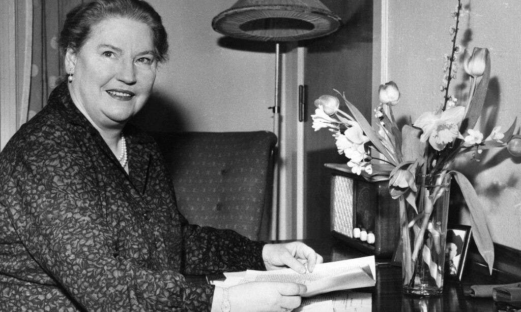 OPERASJEF: Kirsten Flagstad ble i 1958 Norges første operasjef. Kong Haakon var lite begeistret da hun fem år tidligere skulle opptre under Festspillene i Bergen. FOTO: NTB SCANPIX