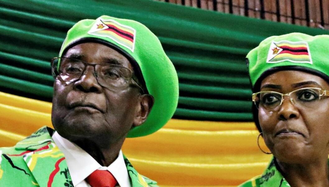 Derfor smalt det i Zimbabwe