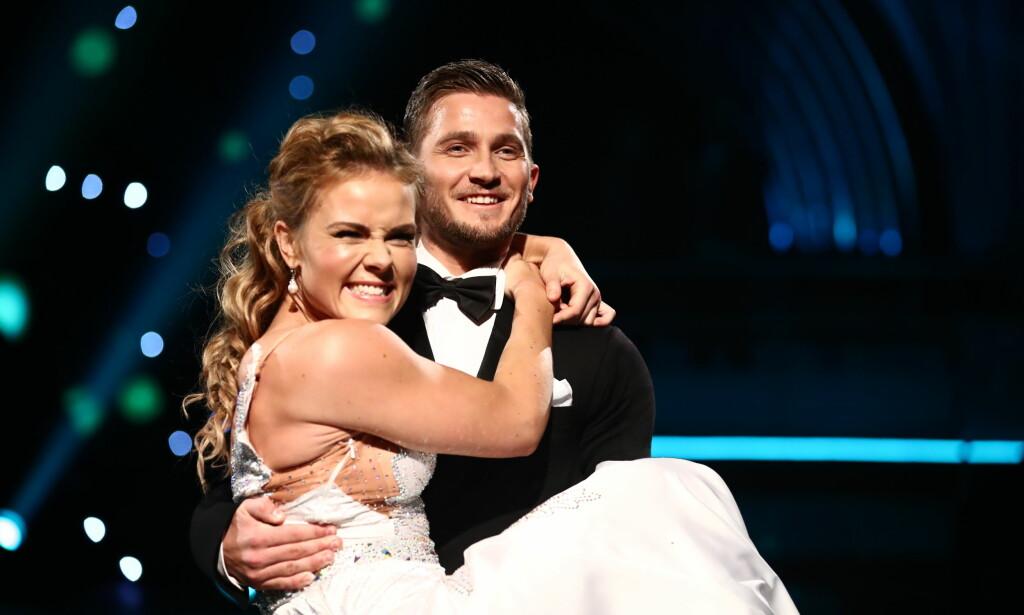 I FINALEN: Helene Olafsen og Jørgen Nilsen er klare for finalen i «Skal vi danse». Foto: TV 2