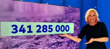 Oslo-kvinne vant 341 millioner kroner i Vikinglotto