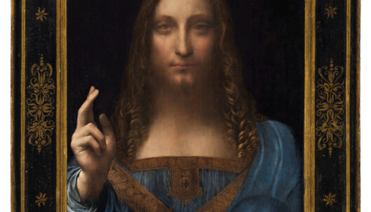 <strong>BILDET:</strong> «Salvator Mundi» av Leonardo da Vinci. Foto: Retuters