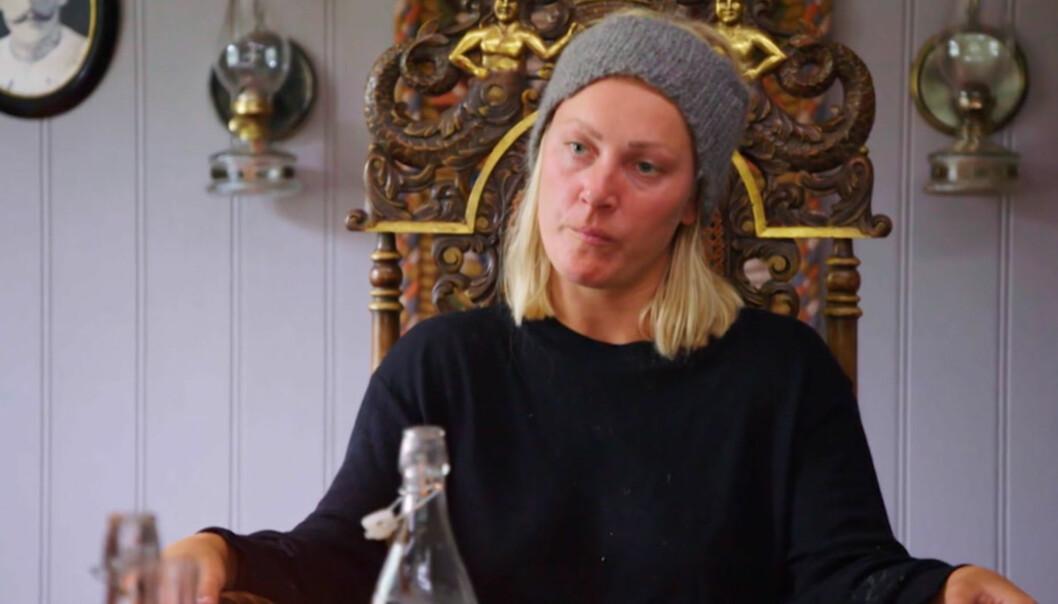 <strong>KONFRONTASJON:</strong> FIKK NOK: Karianne Amlie Wahlstrøm gikk rett i strupen på meddeltaker Geir Magne Haukås i en av årets episoder. Foto: TV 2