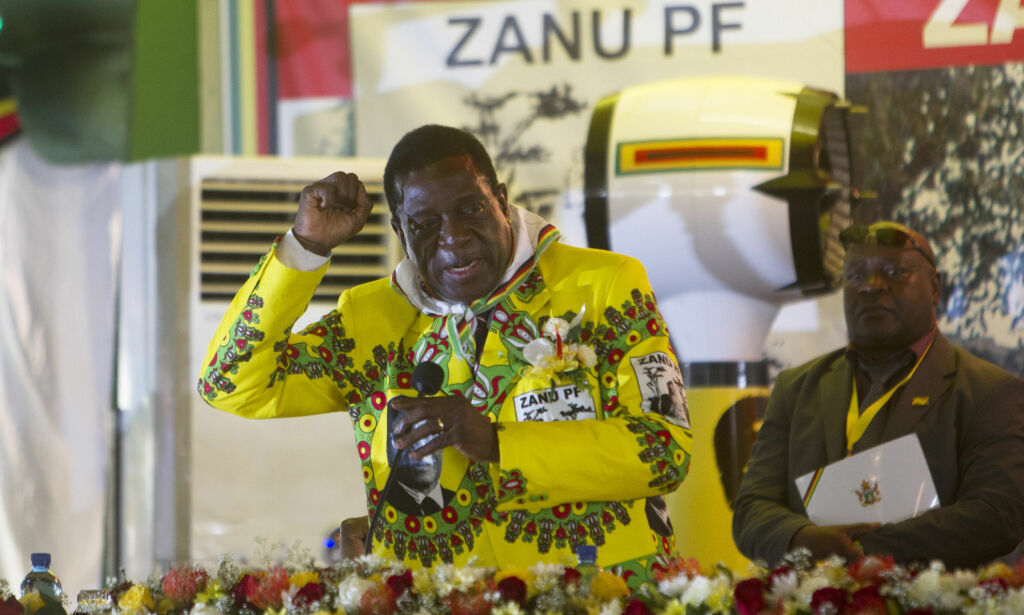 image: Dette er «Krokodillen» - Zimbabwes nye president