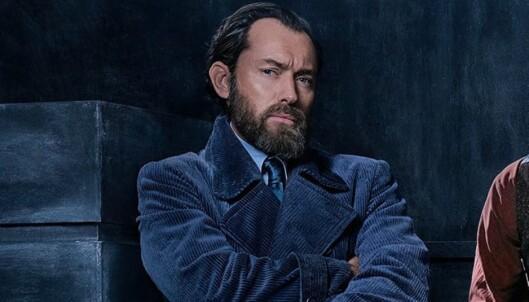 <strong>NY PÅ ROLLELISTA:</strong> Jude Law i rollen som Albus Humlesnurr. Foto: Warner Bros.
