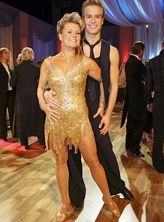 <strong>STORTRIVDES PÅ DANSEGULVET:</strong> Elisabeth Andreasson syntes det var en fantastisk opplevelse å være med i «Skal vi danse». Foto: Tore Skaar
