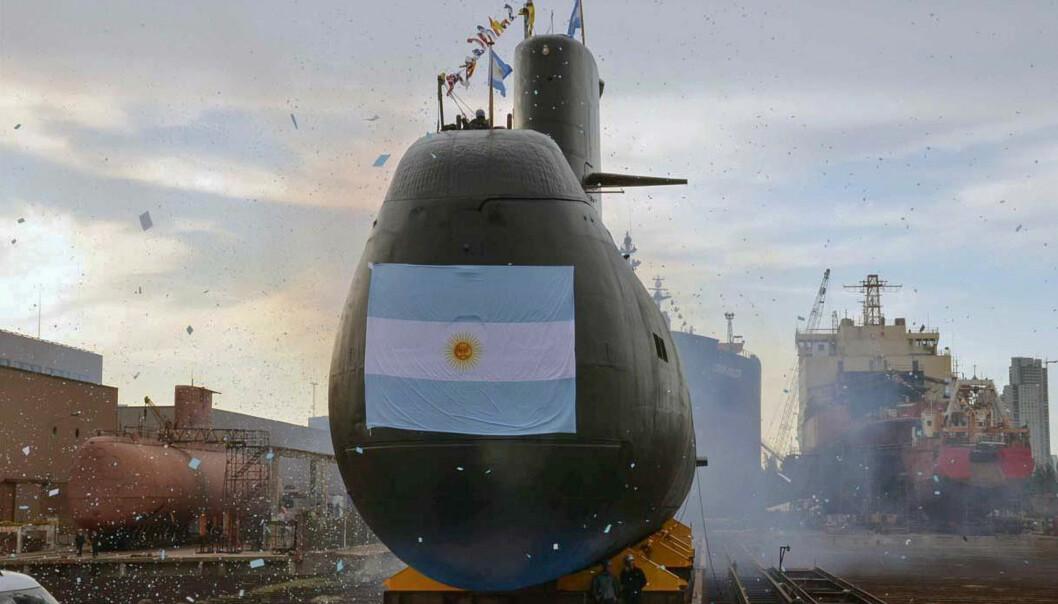 <strong>STILLE:</strong> Ubåten ble meldt savnet i havet utenfor det sørlige Argentina fredag. Da hadde det gått to dager siden den sist ga fra seg signaler om posisjon. Det argentinske forsvaret har satt i gang en stor leteaksjon etter fartøyet. Foto: Argentinas forsvarsdepartement