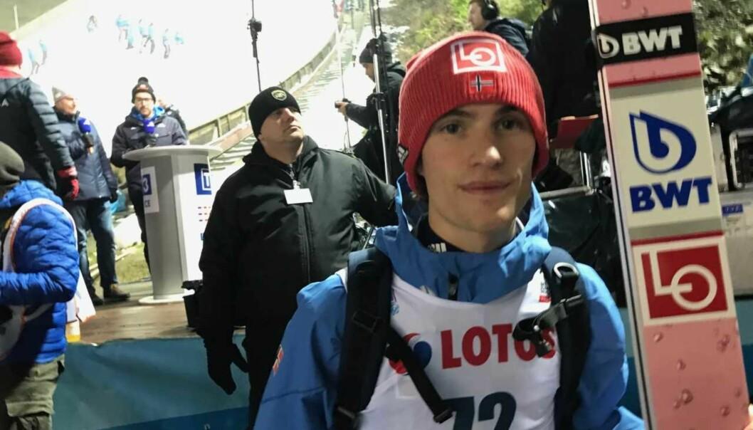 <strong>MISFORNØYD:</strong> Daniel-André ble nummer 27 i kvalifiseringen og var ikke spesielt fornøyd. Foto: Tore Ulrik Bratland