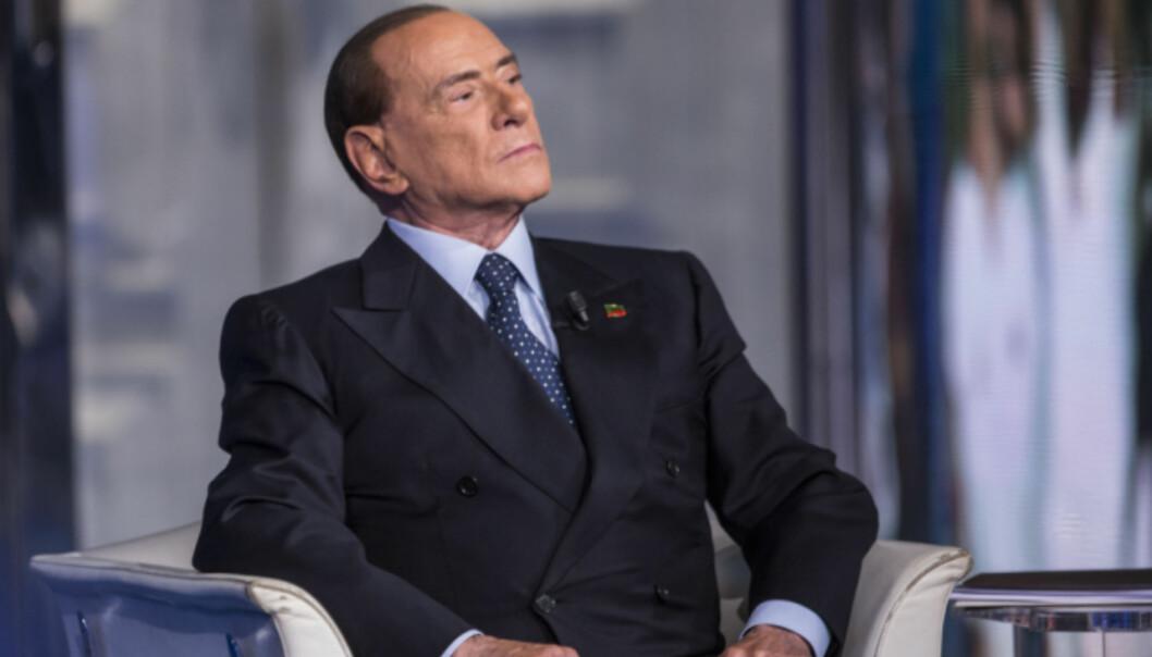 <strong>TILBAKE I POLITIKKEN:</strong> Seieren over ekskona kommer samtidig som Berlusconi gjør susksess i politikken. Foto: NTB Scanpix.