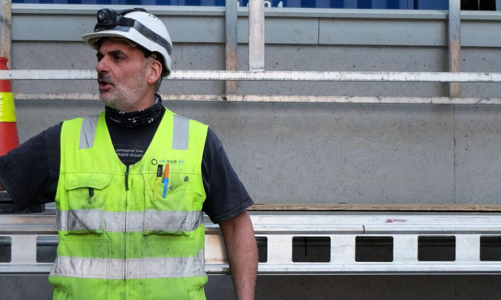 image: Walter (53) utnyttet på norsk byggeplass. - Jobbet ti timer dagen uten overtid