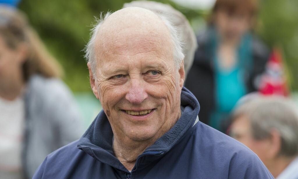 SYK: Kong Harald har pådratt seg en infeksjon. Foto: NTB scanpix