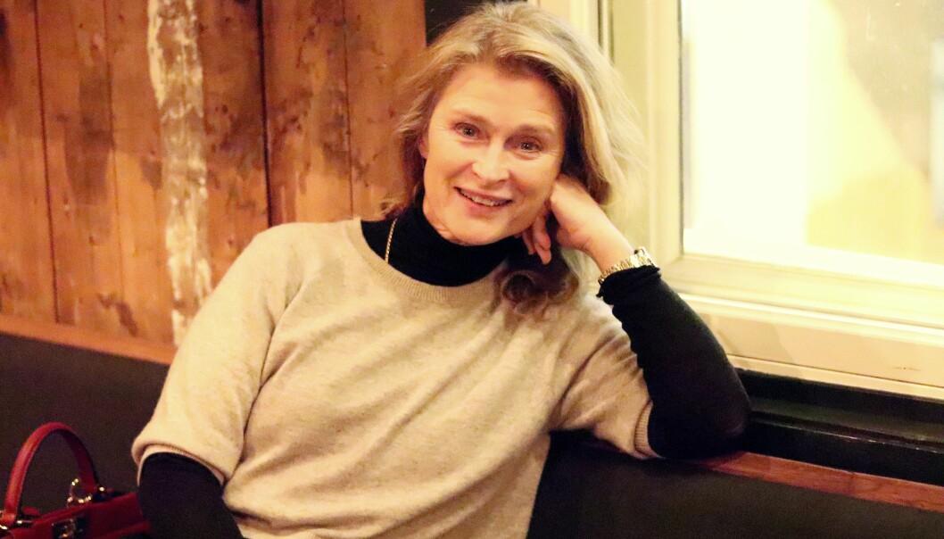 LENA ENDRE: Lena Endre (62) har jobbet som skuespiller i 30 år, men hun har også flere prosjekter ved siden av. FOTO: Ida Bergersen