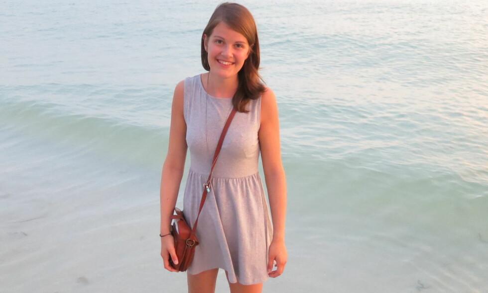 BENKREFT: Cecilie (23) var bare 16 år gammel da høyre lår sviktet fullstendig. Etter mange runder hos legen, fikk hun endelig vite årsaken. FOTO: Privat