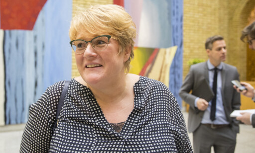 NY KANDIDAT: Trine Skei Grande ber Frp finnen en annen kandidat enn Carl I. Hagen. Foto: Vidar Ruud / NTB scanpix
