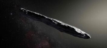 Forskere med sensasjonelt funn: Har observert asteroide som kan være fra et annet solsystem