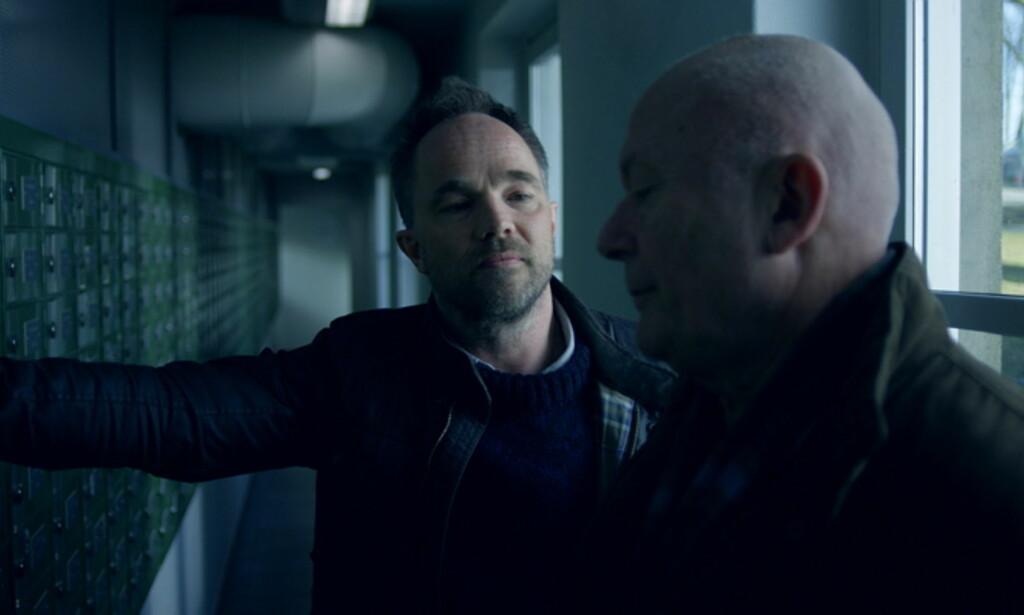 PRIS: Sesong to av NRK-serien «Mammon», med blant andre Jon Øigarden og Nils Ole Oftebro i sentrale roller, fikk Emmy for beste internasjonale dramaserie. FOTO: NRK