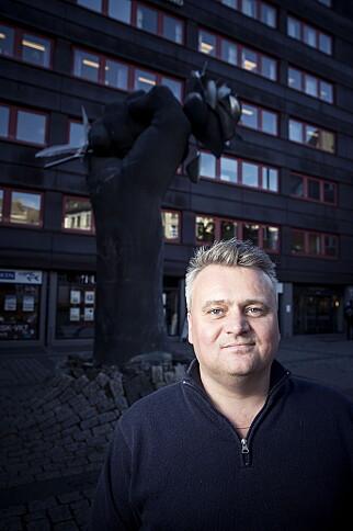 ALVORLIG: - Våre folk der ute er ikke trygge før alle arbeidsgivere tar dette på ramme alvor, sier leder i Fellesforbundet, Jørn Eggum. Foto: Bjørn Langsem / Dagbladet
