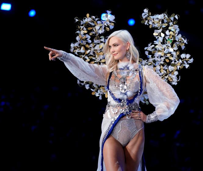 KARLIE KLOSS: 25-åringen er tilbake på Victoria's Secret-catwalken. Foto: NTB Scanpix