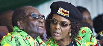 Den 41 år yngre kona førte til Robert Mugabes fall