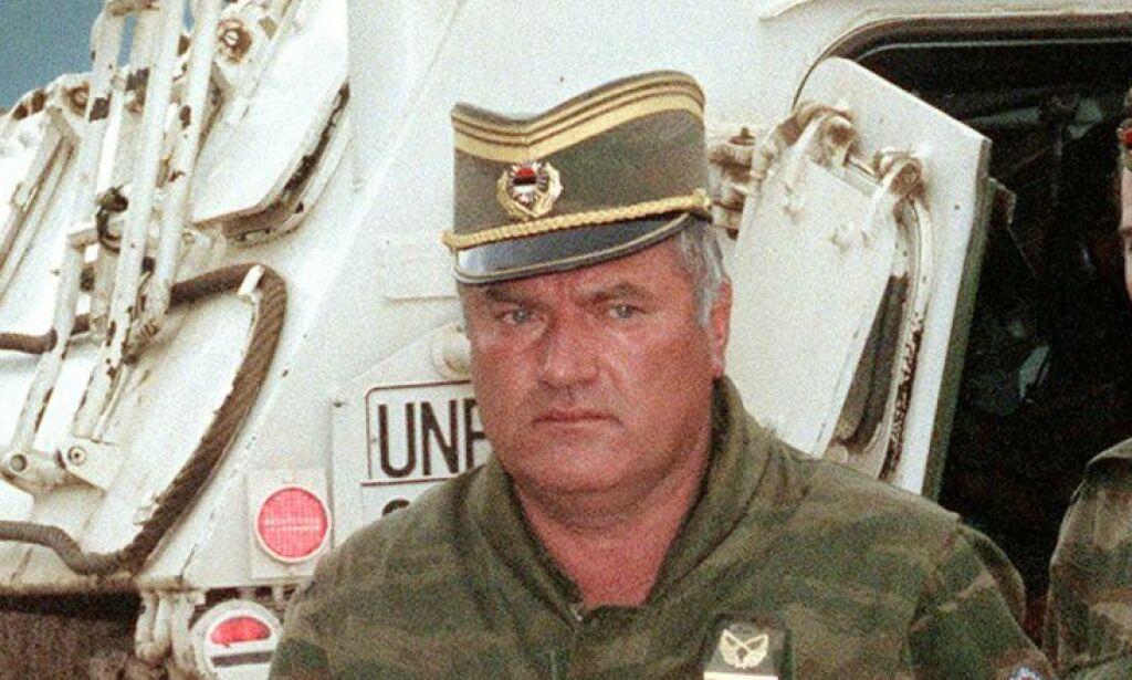 image: «Slakteren i Srebrenica» kjent skyldig i folkemord. Ble dømt til livstid i fengsel