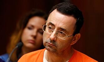 FENGSLET: Larry Nassar. Foto: Jeff Kowalsky / AFP Photo / NTB Scanpix