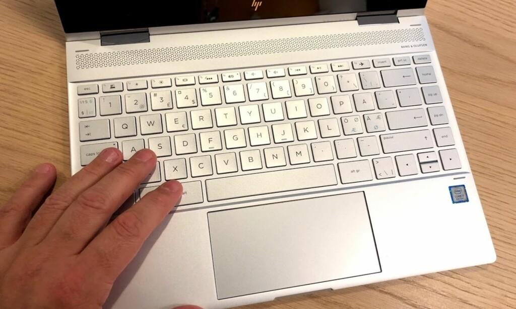 MEGET BRA: Et godt tastatur er alfa/omega for en god PC-opplevelse. Foto: Bjørn Eirik Loftås