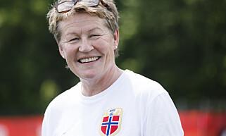 SJEF: Heidi Støre er leder for norsk toppfotball for kvinner. Her under fotball-VM for kvinner i Canada 2015. Foto: Berit Roald / NTB scanpix