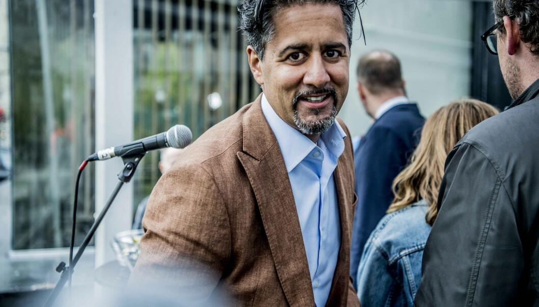 <strong>- SKULLE BARE MANGLE:</strong> Abid Raja mener det bare skulle mangle å øke bevilgningen. Foto: Thomas Rasmus Skaug / Dagbladet