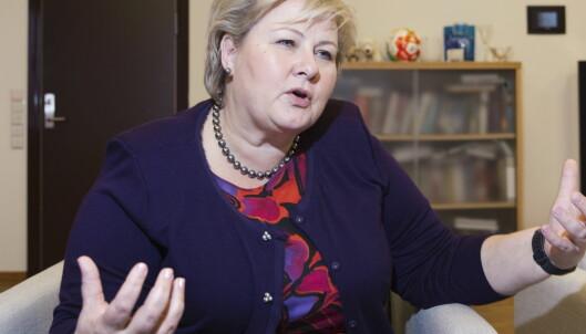 For å lykkes må Erna Solberg begynne med regjeringen