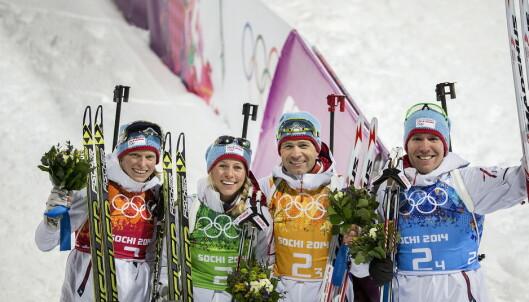 Få oversikt over de forskjellige øvelsene i skiskyting i OL 2018