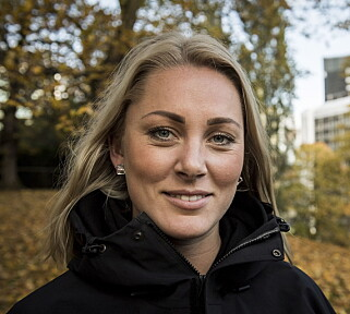 UENIG: Karianne Amlie Wahlstrøm (26) slår kraftig tilbake mot meddeltakerens påstander. Foto: Lars Eivind Bones / Dagbladet
