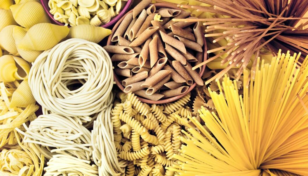 KARBOHYDRATER: Er egentlig pasta fy-fy om man ønsker å gå ned noen kilo? FOTO: NTB Scanpix