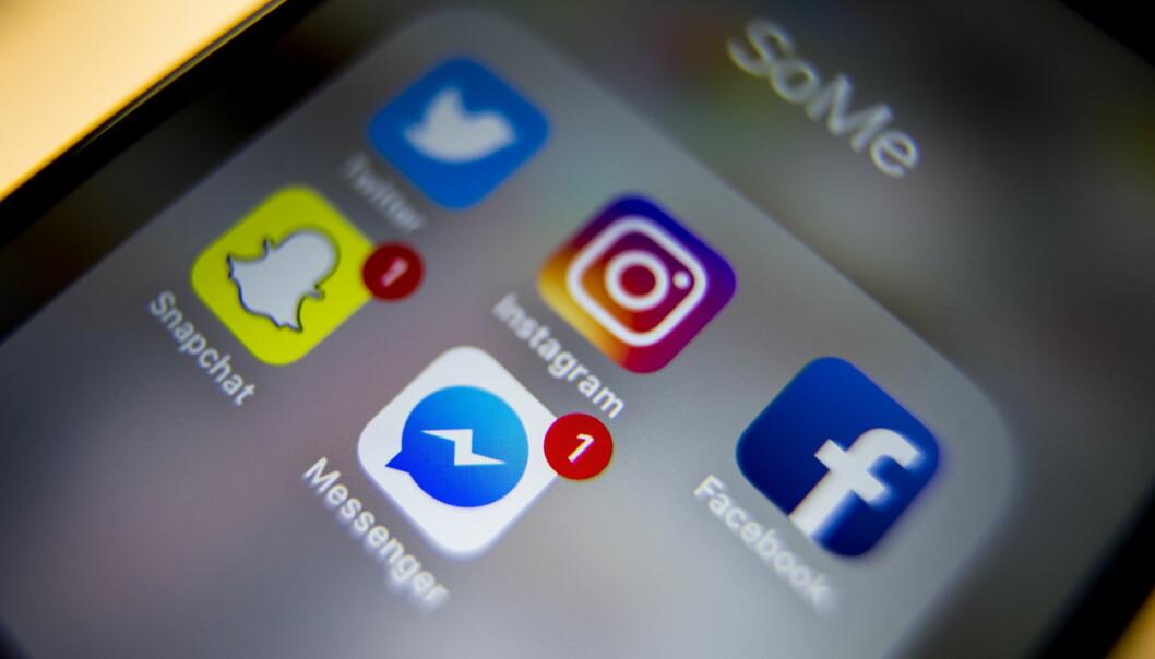 <strong>BLIR STADIG MER LIKE:</strong> Snapchat og Facebook Messenger får flere og flere av de samme funksjonene. Foto: Håkon Mosvold Larsen / NTB scanpix