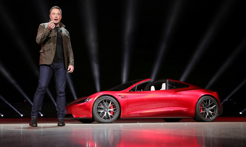 KRITISERES: Tesla-gründer Elon Musk kritiseres for sine holdninger til offentlig transport. FOTO: Reuters