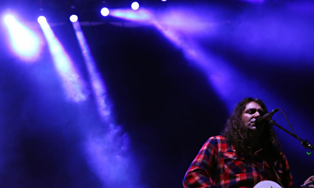 Blå stemninger: Det er mye lengsel og melankoli i musikken til The War on Drugs. Foto: Frank Karlsen