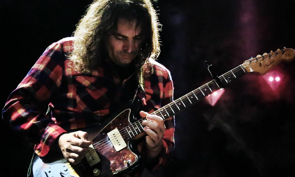 Gitarsjef: Adan Granduciel i Oslo Spektrum. Foto: Frank Karlsen