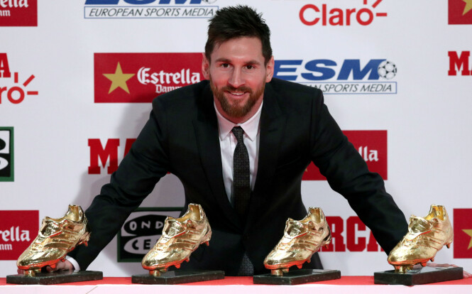Messi forlenget med Barcelona. Dette er den elleville utkjøpsklausulen