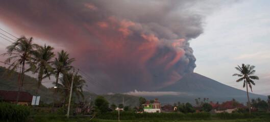 Vulkanutbrudd på Bali stanser flytrafikk