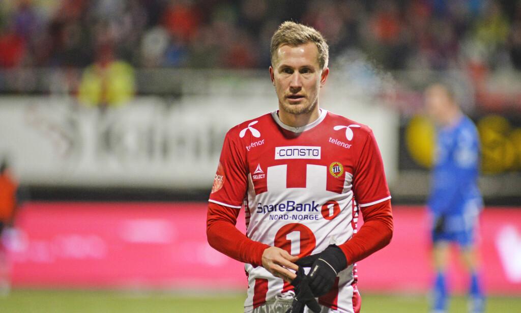 FORLENGER: Morten Gamst Pedersen er klar for nye år i Tromsø. Foto: Rune Stoltz Bertinussen / NTB scanpix
