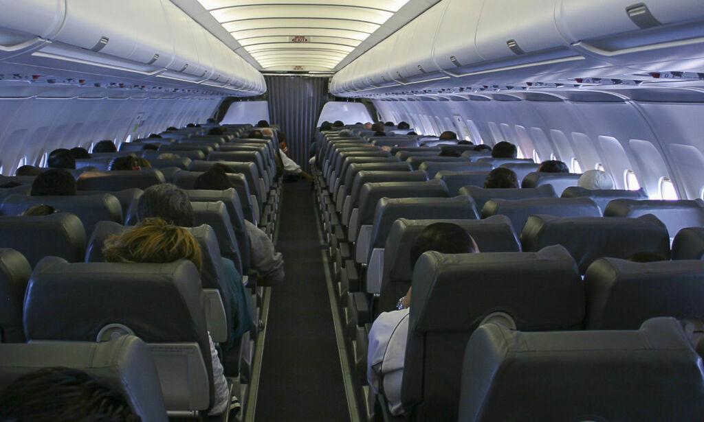 image: Derfor dimmer besetningen lyset i flykabinen før du skal lette og lande