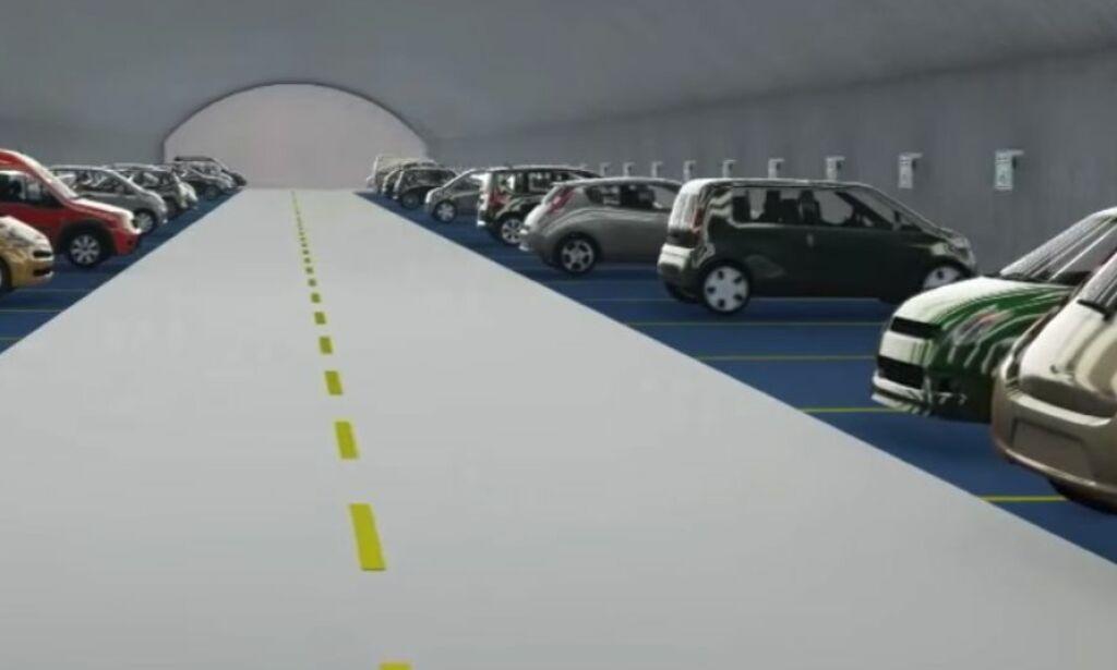 image: «Verdens største elbilparkering» har støtt på problemer i Oslo:– Dette er ikke et parkeringshus