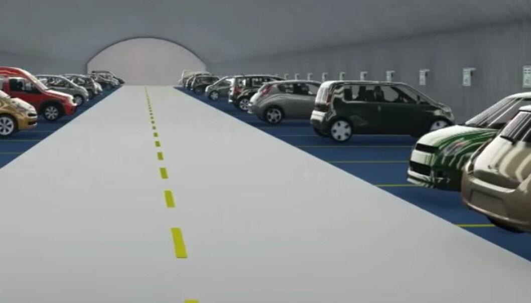 «Verdens største elbilparkering» har støtt på problemer i Oslo:– Dette er ikke et parkeringshus