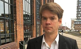 SVT-JOURNALIST: Fredrik  Svenningsson har laget dokumentar. Foto: SVT
