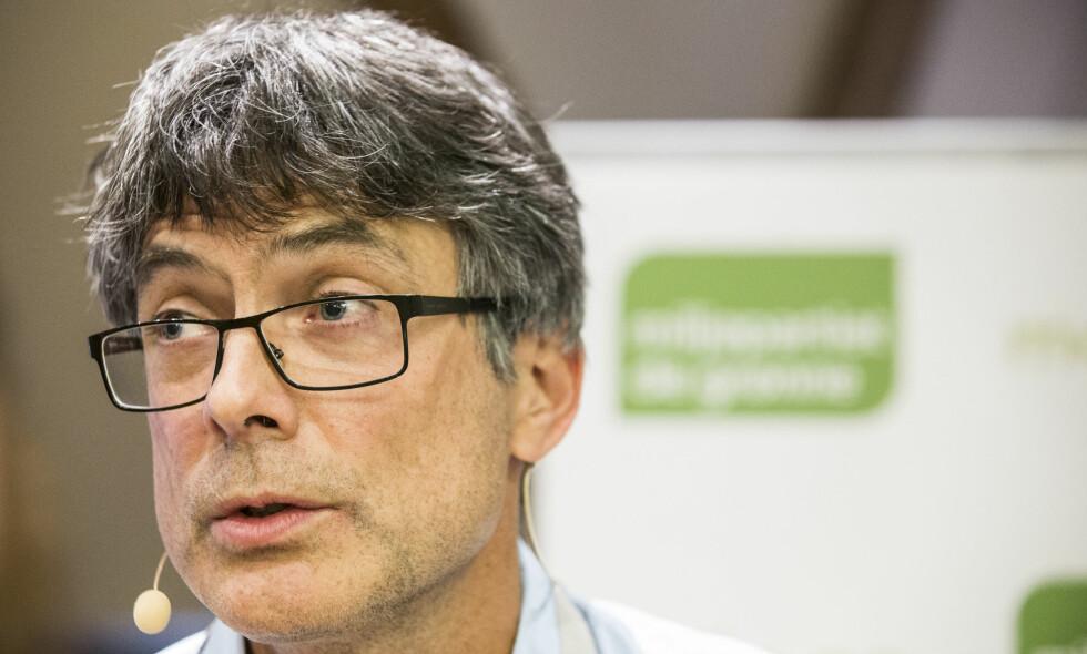 FÅR STØTTE: Miljøpartiet de grønnes Per Espen Stoknes foreslår at regjeringen utreder hvordan verdiskapingen fra multinasjonale selskaper med digital inntjeningsplattform kan skattlegges mer treffsikkert i Norge. Foto: Mariam Butt / NTB scanpix